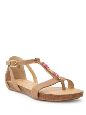 Nikki Leather Sandals by Me Too