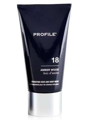 18 Amber Wood Hydrating Hair and Body Wash, 5 oz. 500042883876