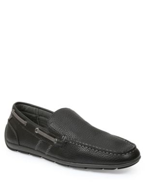 Ludlam Moc-Stitched Loafers...