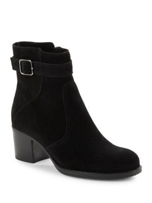 Brixton Suede Ankle Boots by La Canadienne