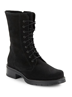 e3828c9e805 La Canadienne - Ginny Waterproof Lace-Up Suede Boots