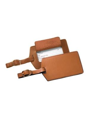 Leather Luggage Tag @...