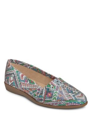 Trend Setter Leather Flats by Aerosoles