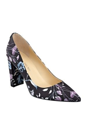 Katie2 Floral Print Pumps by Ivanka Trump