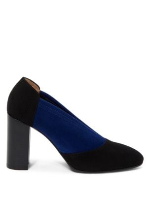Valeria Stretch Suede Pumps by Aquatalia