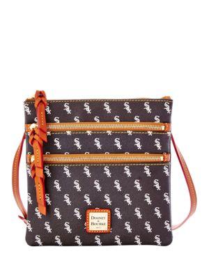 White Sox Triple-Zip Crossbody Bag 500043829464