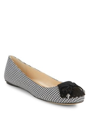 LaSalle 2 Houndstooth Flats by Karl Lagerfeld Paris