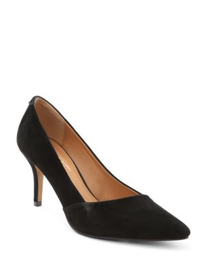 Sashan Suede Pumps by Nanette By Nanette Lepore