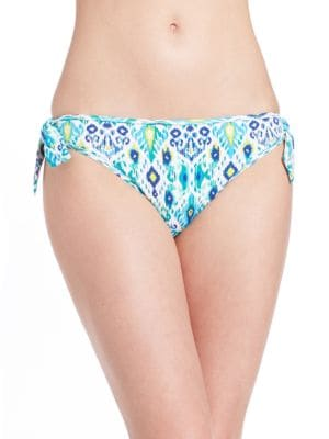 Ikat Tunnel Hipster Swim Bottom by Tommy Bahama