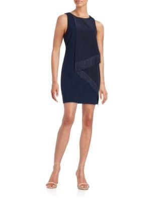 Aileen Fringe Sheath Dress by Trina Turk