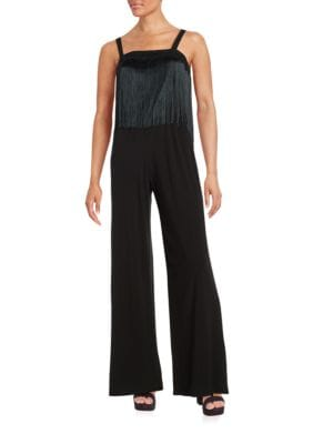 Mariam Fringed Jumpsuit by Trina Turk