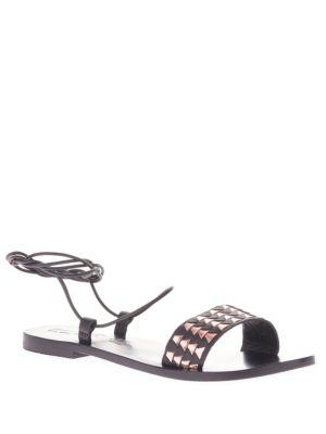 Ara Geo-Weave Leather Sandal by Sol Sana