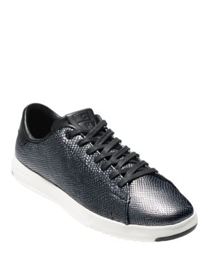 Grandpro Snake-Printed Leather Sneakers by Cole Haan
