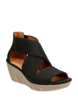 Clarene Glamor Open Toe Strappy Sandals by Clarks