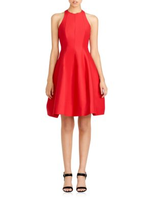 Structured Cutout Dress by Halston Heritage