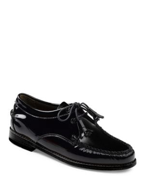 Winnie Patent Leather Oxfords by G.H. Bass