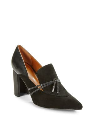 Estelle Heeled Loafer by H Halston