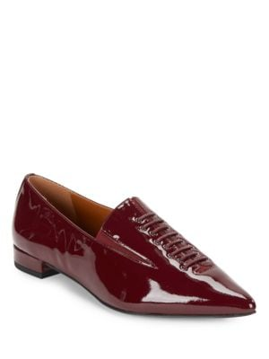 Ronda Patent Point Toe Oxfords by H Halston
