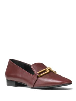 Michael Kors Leathers LENNOX LEATHER LOAFERS