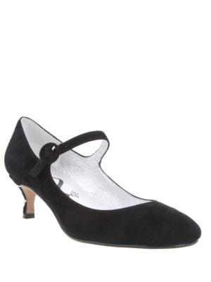 Benecia Mary Jane Suede Stiletto Pumps 500045195880