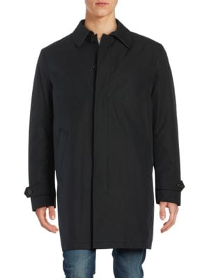 Fly-Front Insulated Topcoat...
