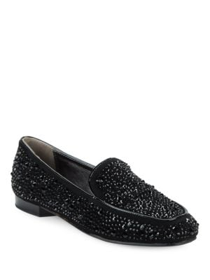 Helena 2 Suede Loafers by Donald J Pliner