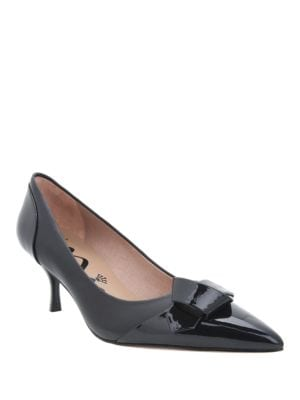 Prezley Pointed Cap-Toe Leather by Nina