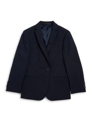 Boy's Two-Button Blazer...