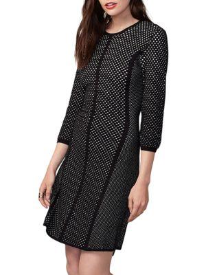Jacquard Mesh Sweater Dress by RACHEL Rachel Roy