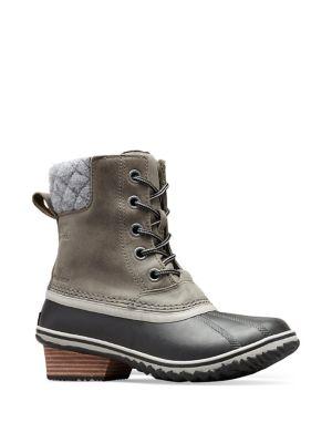 Slimpack II Waterproof Leather Boots by Sorel