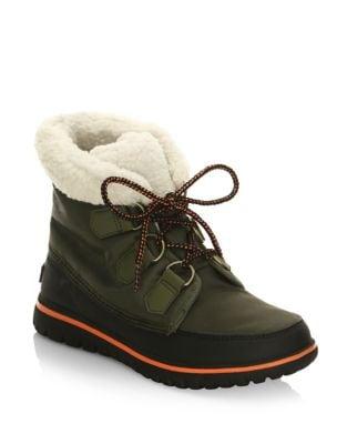 Cozy Carnival Nylon and Fleece Boots by Sorel
