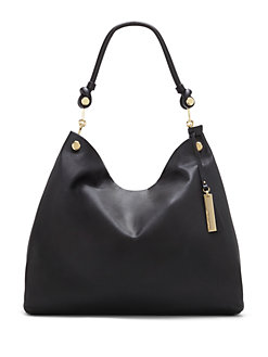 eed54df6800 Leather Hobo Bag RUSSET. QUICK VIEW. Product image