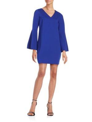 Lizzie Long Sleeve Shift Dress by Cece