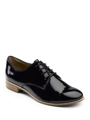 Ella Patent Leather Oxfords by G.H. Bass