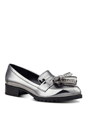 Leonda Leather Loafers by Nine West