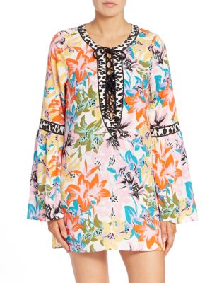 Cupa Cubana Cover-up Tunic by Nanette Lepore
