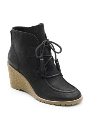Teresa Leather Ankle Boots by G.H. Bass