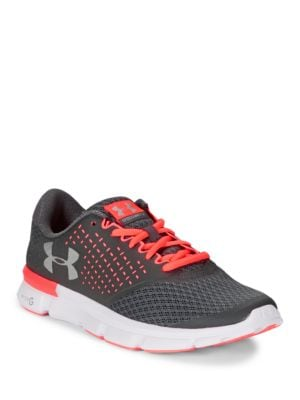 Mesh Lace-Up Sneakers by Under Armour