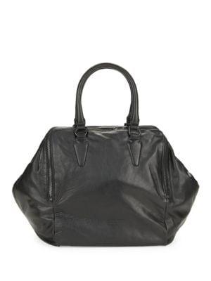 Kayla Leather Satchel...