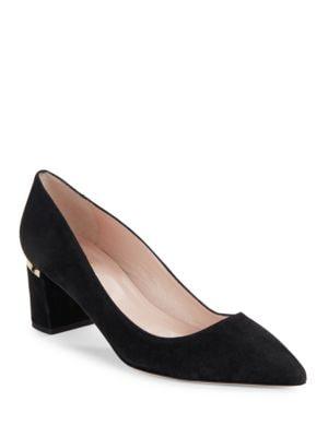 Milan Suede Pointed Toe Heels by Kate Spade New York