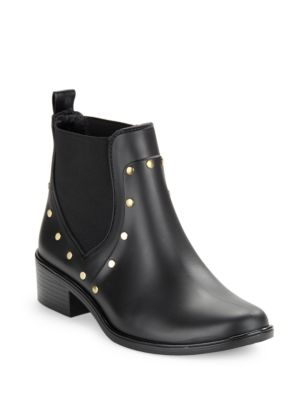 Salma Studded Rubber Ankle Rain Boots by Kate Spade New York