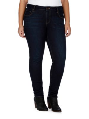 Plus Plus Monte Ginger Skinny Jeans 500045891413
