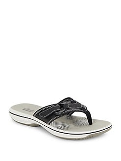0fbd596a58ce QUICK VIEW. Clarks. Breeze Mila Thong Sandals