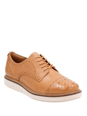 Glick Castine Leather Oxford Shoes by Clarks