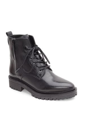 Jordana Leather Ankle Boots by KENDALL + KYLIE