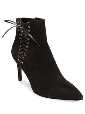 Sofia Suede Ankle Boots by Design Lab Lord & Taylor