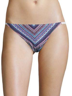 Portofino Geometric Bikini Bottom by Vince Camuto