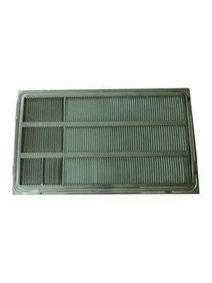 Stamped Aluminum Rear Grille for 26-inch Wall Sleeve photo