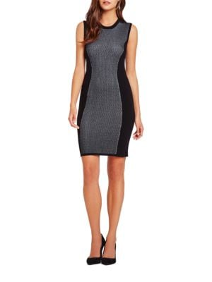 Two-Tone Sweater Dress by BCBGeneration