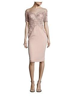 f6b1cd5e1c3b QUICK VIEW. Nicole Bakti. Midi Lace Sheath Dress